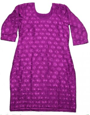 Self Embroidered Phulkari Kurti Custom Stitched – All Colours/Sizes Available