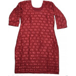 Self Embroidered Phulkari Kurti Custom Stitched – All Colours/Sizes Available