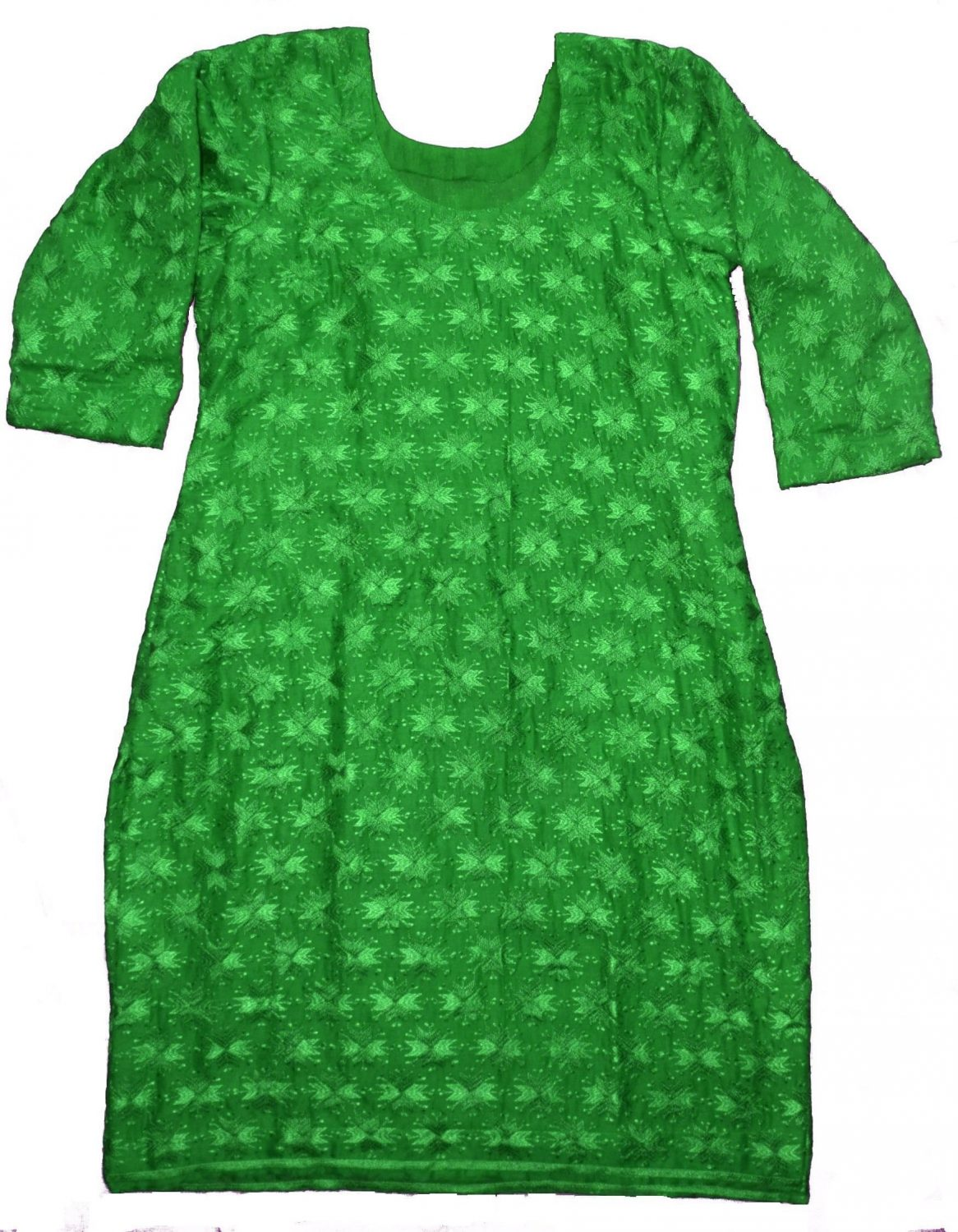 Self Embroidered Phulkari Kurti Custom Stitched - All Colours/Sizes Available 5