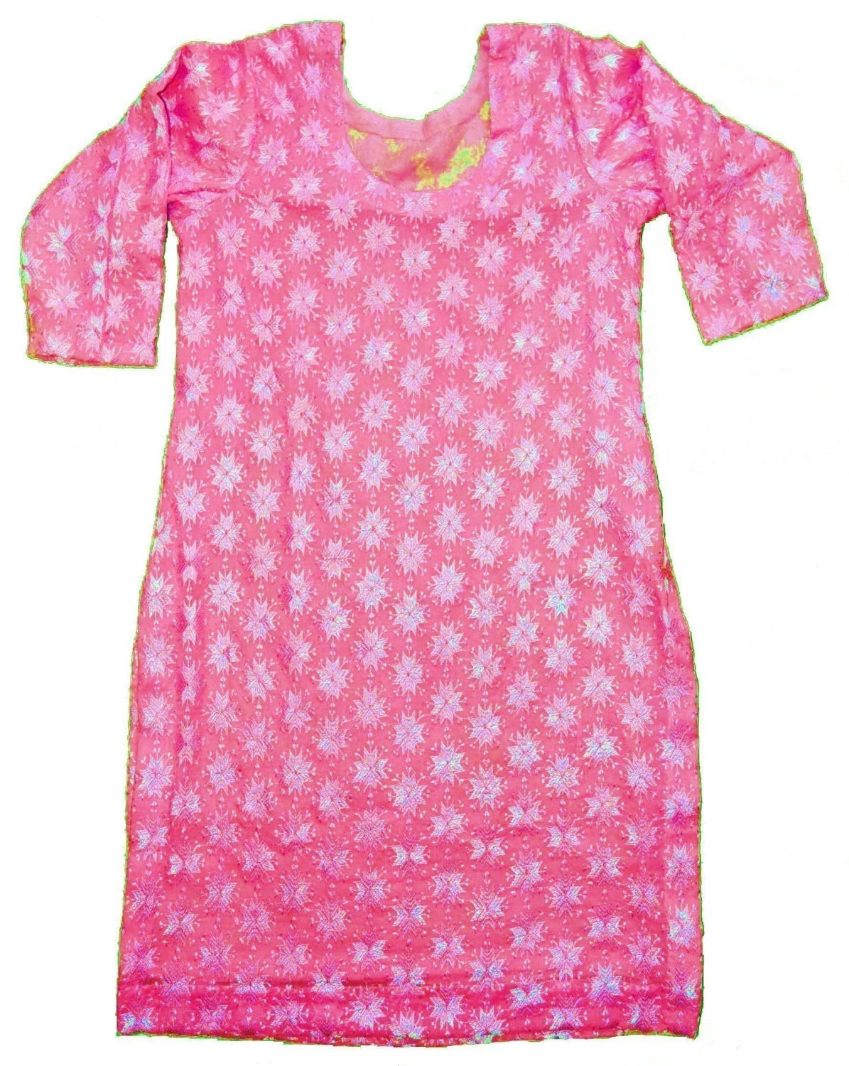 Self Embroidered Phulkari Kurti Custom Stitched - All Colours/Sizes Available 10
