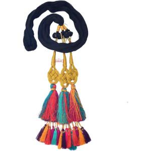 Colourful Jalebi Paranda – Choose Colour – multicolour