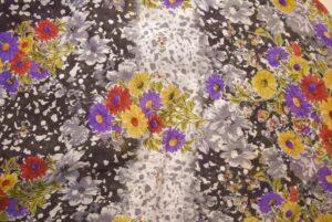 GEORGETTE PRINTED fabric for Kurti, Saree, Salwar, Dupatta GF039