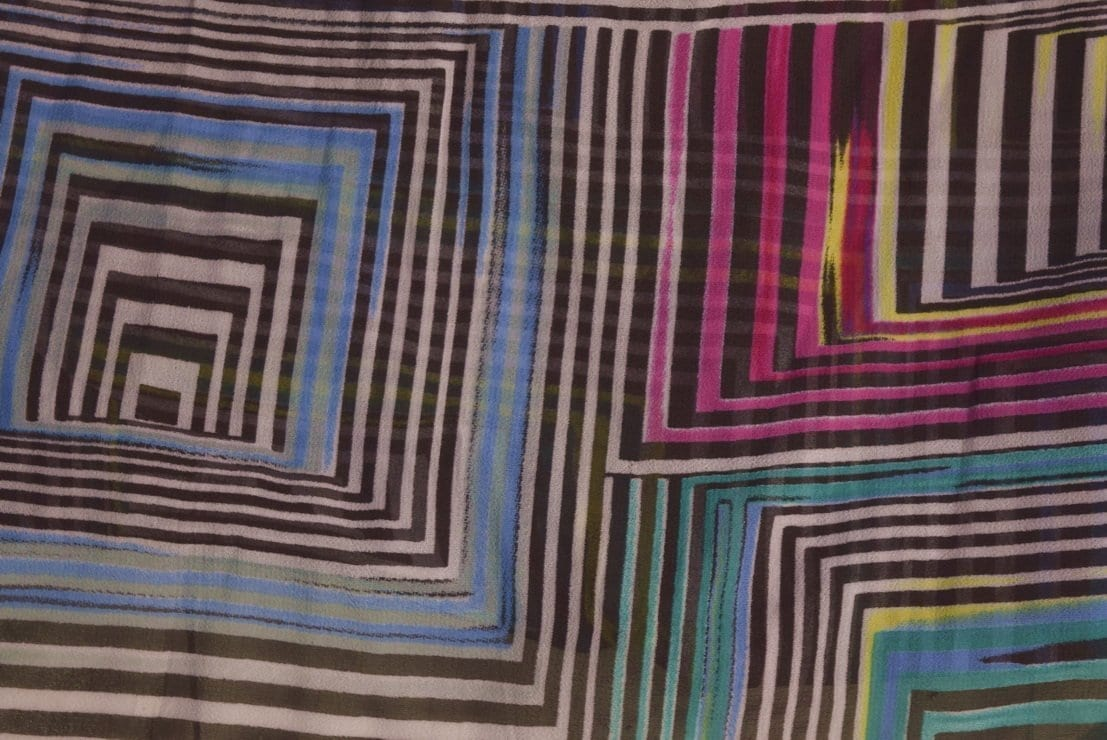 GEORGETTE PRINTED fabric for Kurti, Saree, Salwar, Dupatta GF041 2