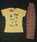 Pure Cotton Soft Hosiery Fabric Ladies Night Wear Night Suit NS058