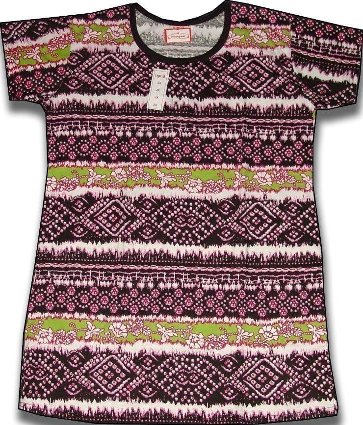 Pure Cotton Soft Hosiery Fabric Night Wear Kurti TOP NS073 1