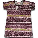 Pure Cotton Soft Hosiery Fabric Night Wear Kurti TOP NS079