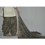 100% Pure Cotton FULL Patiala Salwar + matching cotton printed dupatta PSD172