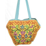 Kashmiri Hand Bag embroidered Office / College / Shopping Bag HB111
