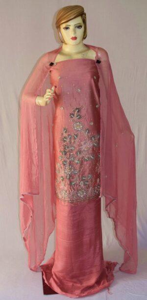 Shantoon Cotton M/C embroidered Salwar kameez Dupatta Suit M0321