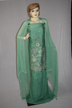 Shantoon Cotton M/C embroidered Salwar kameez Dupatta Suit M0322