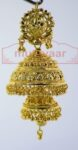 Gold Plated Punjabi Traditional Jewellery Earrings Jhmki Dangles J0261