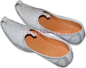 Desi Hand Made Embroidered Wedding Groom Achkan Sherwani Jutti Shoes ACJ05