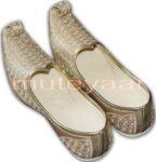 Desi Hand Made Embroidered Wedding Groom Achkan Sherwani Jutti Shoes ACJ06