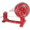 GIDDHA  prop - VELVET decorated CHARKHA (size 2.5 ft)