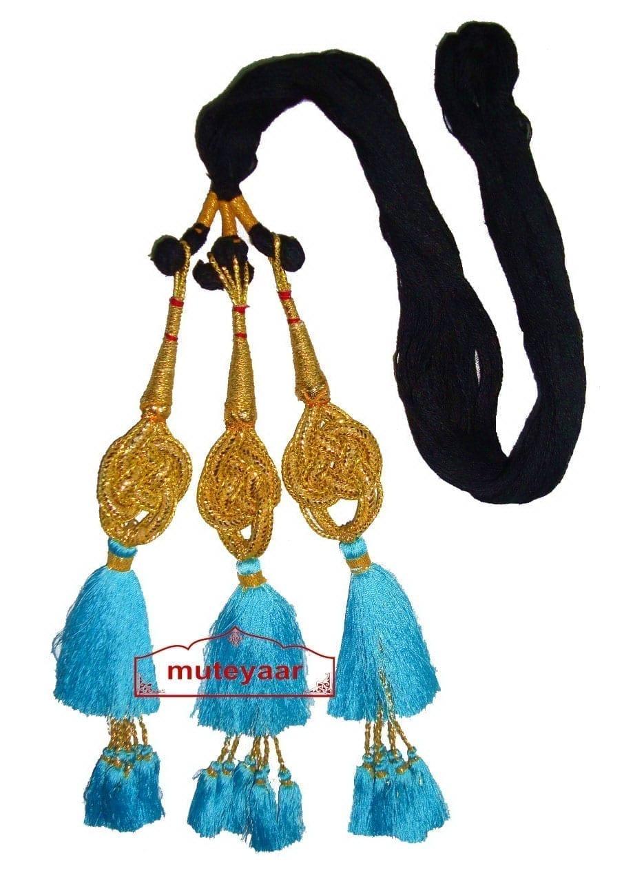 Traditional Punjabi Jalebi ethnic Colorful Paranda parandi to match ur suit 1