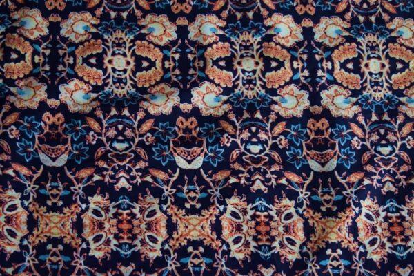 Drapy Printed American Crepe fabric (per meter price)  PAC01