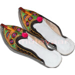 Multicolour Desi Punjabi Jutti Party wear Slipper shoes PJ9751