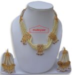 Motihaar Bhangra Giddha Jewelery set of Neclace + Earrrings