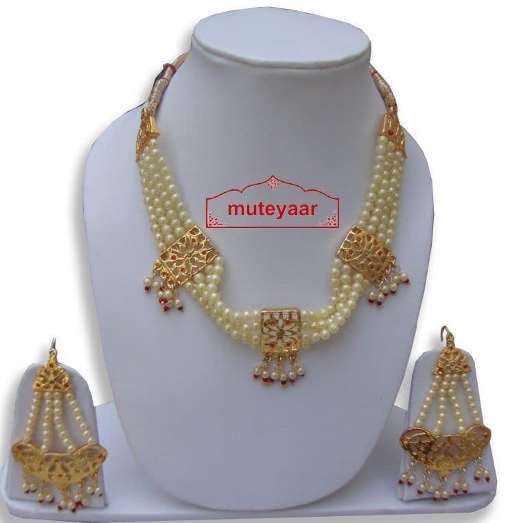 Motihaar Bhangra Giddha Jewelery set of Neclace + Earrrings 1