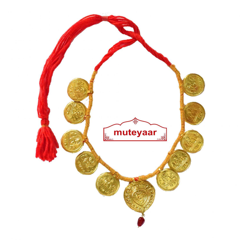 Big Singh Taweet Necklace Haar for Giddha Bhangra 1