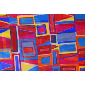 GEORGETTE PRINTED fabric for Kurti, Saree, Salwar, Dupatta GF045