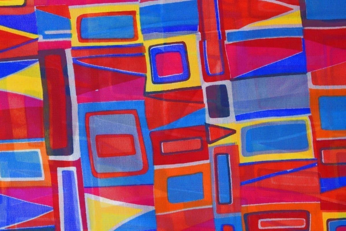 GEORGETTE PRINTED fabric for Kurti, Saree, Salwar, Dupatta GF045 1