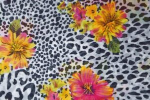 GEORGETTE PRINTED fabric for Kurti, Saree, Salwar, Dupatta GF047