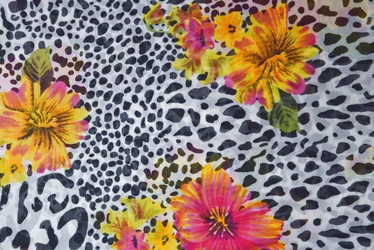 GEORGETTE PRINTED fabric for Kurti, Saree, Salwar, Dupatta GF047 1