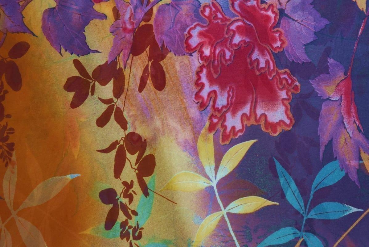 GEORGETTE PRINTED fabric for Kurti, Saree, Salwar, Dupatta GF054 4
