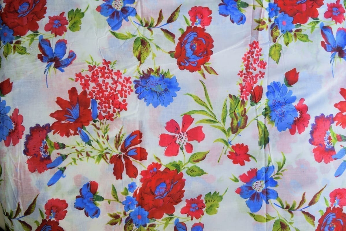 100% PURE Soft COTTON PRINTED fabric PC217 1