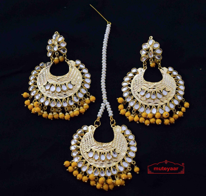Kundan Punjabi Tikka set J0158 1