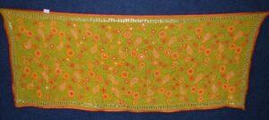 Designer GEORGETTE Hand Embroidered Partywear Dupatta D0894