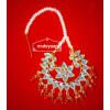 Kundan Work Big Size Traditional Punjabi Jewellery Maang Tikka J0164