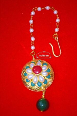 Designer Work Traditional Punjabi Jewellery Maang Tikka J0169