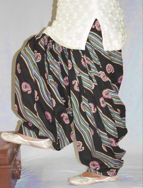 Limited Edition Printed 100%  Pure Cotton Full Patiala Salwar PPS184