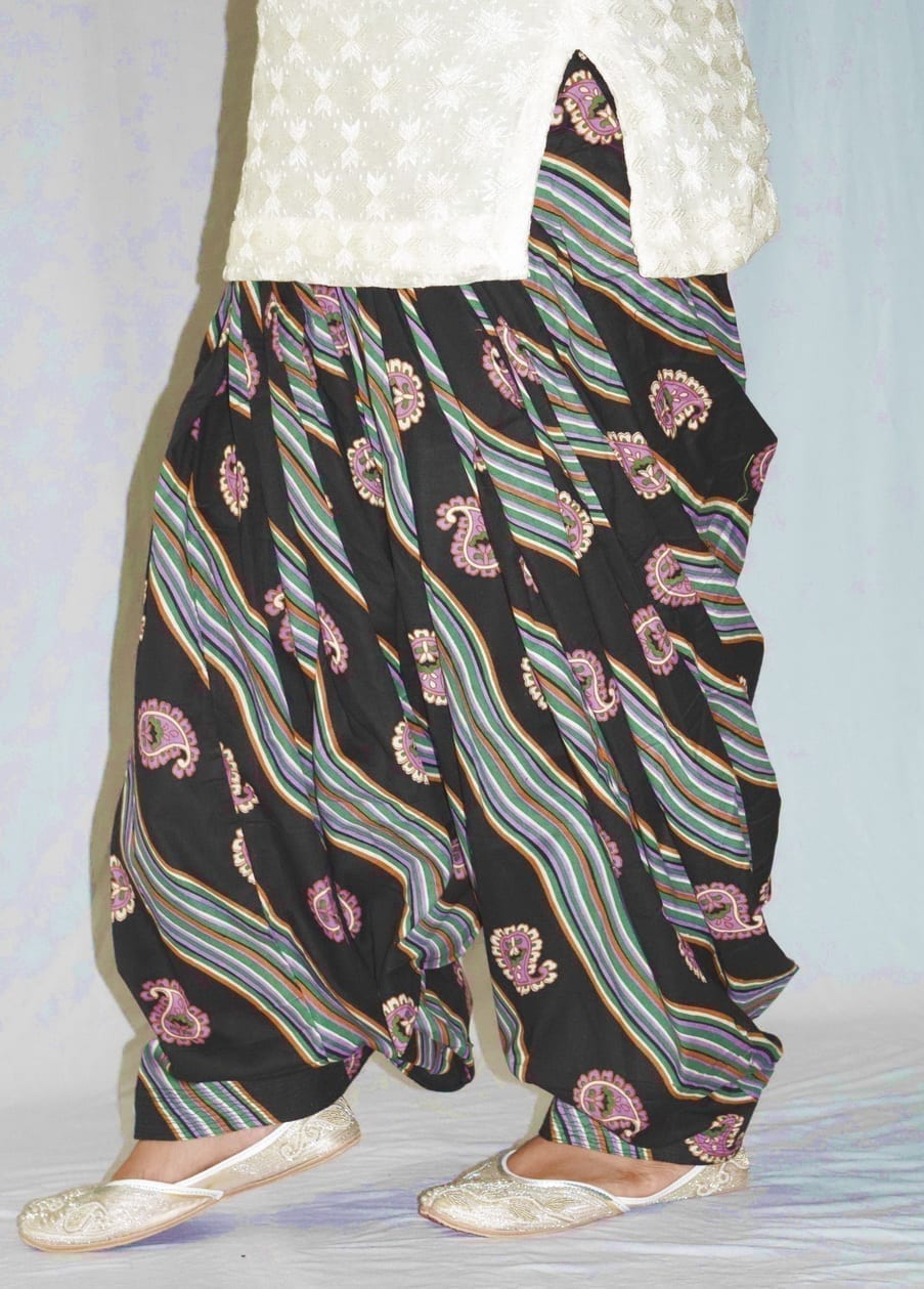 Limited Edition Printed 100%  Pure Cotton Full Patiala Salwar PPS184 3