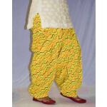 Limited Edition Printed 100%  Pure Cotton Full Patiala Salwar PPS193