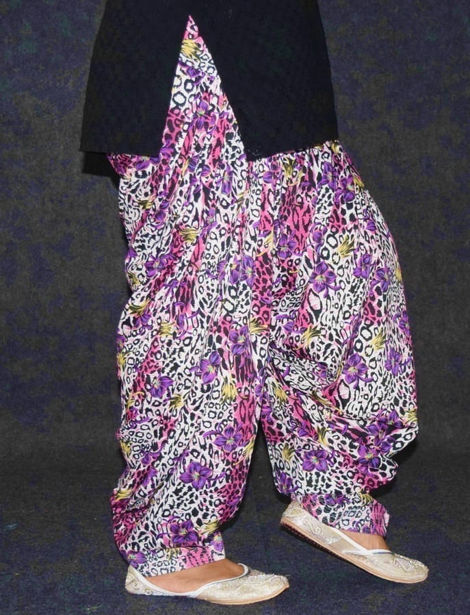 Printed CREPE Limited Edition 100% Full Patiala Salwar PPS206