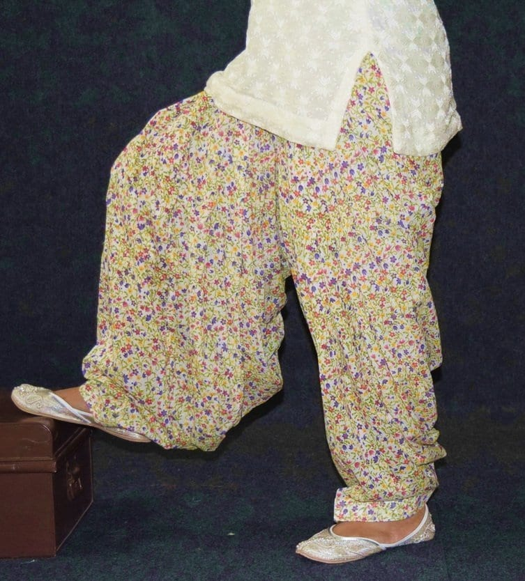 Limited Edition Printed 100%  Pure Cotton Full Patiala Salwar PPS209 1