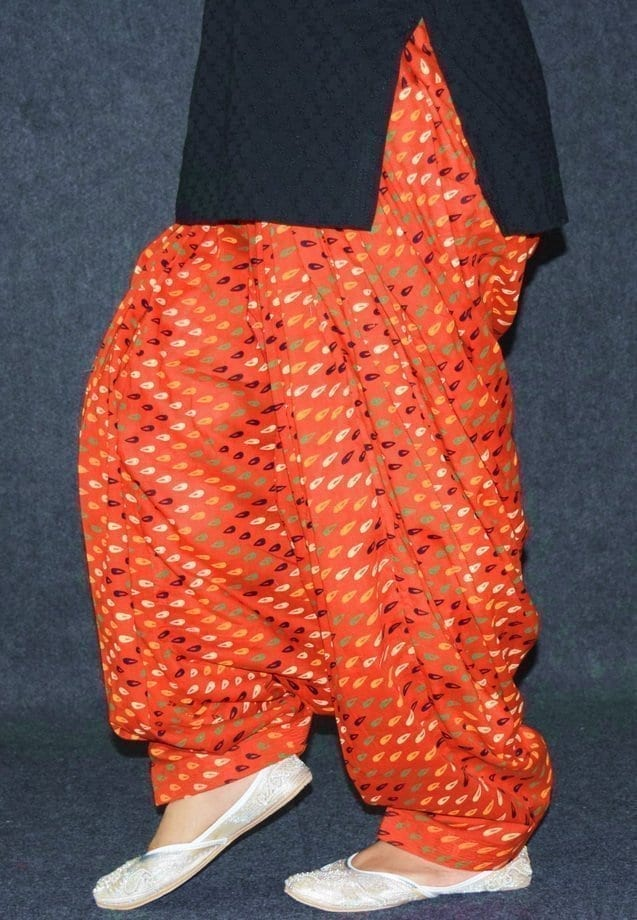 Limited Edition Printed 100%  Pure Cotton Full Patiala Salwar PPS211 4