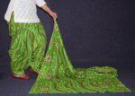 100% Pure Cotton FULL Patiala Salwar + matching cotton printed dupatta PSD175