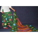 100% Pure Cotton FULL Patiala Salwar + matching cotton printed dupatta PSD178