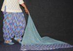 100% Pure Cotton FULL Patiala Salwar + matching cotton printed dupatta PSD179
