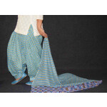 100% Pure Cotton FULL Patiala Salwar + matching cotton printed dupatta PSD180