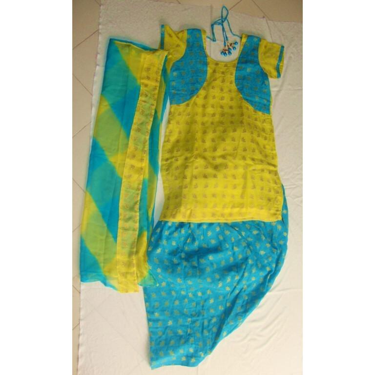 CARRY ON JATTA Full Patiala Salwar Suit - custom stitched