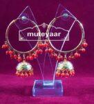 Gold Plated Punjabi Traditional Jewellery Earrings Bali set J0321