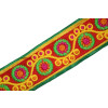 Two Inch Wide Designer Embroidered Lace (per meter price) LC101