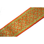1.5 Inch Wide Embroidered Lace Roll of 9 meters LC103