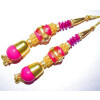 4.5 Inch long Latkans Dangles pair Multipurpose use for blouse, saree , dupatta, kurti, curtains LK054
