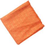 Peach Jaam Cotton Silk Golden Check Suit Piece of 5 meters length CJ022